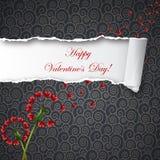 Biglietto di S. Valentino felice Fotografia Stock Libera da Diritti