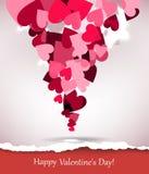 Biglietto di S. Valentino felice Illustrazione di Stock
