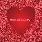 Biglietto di S. Valentino felice Royalty Illustrazione gratis