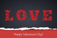 Biglietto di S. Valentino felice Immagine Stock Libera da Diritti