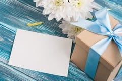 Biglietto di S. Valentino felice, compleanno o giorno di madri Fotografie Stock