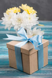 Biglietto di S. Valentino felice, compleanno o giorno di madri Fotografie Stock Libere da Diritti