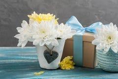 Biglietto di S. Valentino felice, compleanno o giorno di madri Fotografia Stock Libera da Diritti