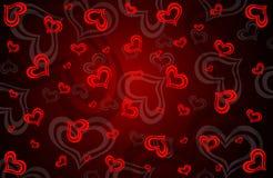 Biglietto di S. Valentino \ 'giorno Ñard di s Immagine Stock Libera da Diritti