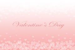 Biglietto di S. Valentino o fondo di amore Immagini Stock Libere da Diritti