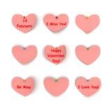 Biglietto di S. Valentino per il vostro favorito Immagine Stock Libera da Diritti