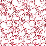 Biglietto di S. Valentino senza giunte Immagini Stock Libere da Diritti