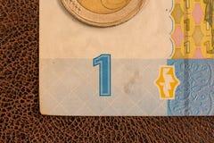 Biglietto ucraino, una fattura di una Fotografia Stock