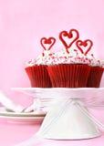 Bigné del biglietto di S. Valentino immagine stock libera da diritti