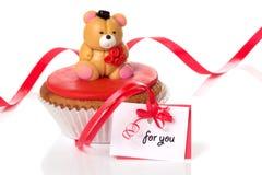 Bigné del biglietto di S. Valentino fotografie stock libere da diritti