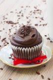 Bigné del cioccolato Fotografia Stock
