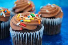 Bigné del cioccolato immagini stock