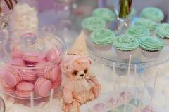 Bigné della barra di Candy Immagini Stock