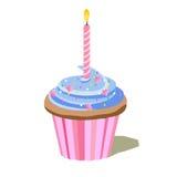 Bigné di compleanno royalty illustrazione gratis