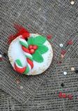 Bigné di Natale Fotografia Stock Libera da Diritti