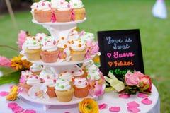 Bigné di nozze Fotografia Stock