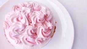 Bigné di principessa Pink fotografia stock libera da diritti