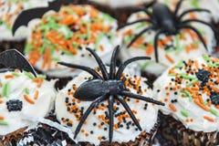 Bigné di tema decorativi di Halloween Immagine Stock Libera da Diritti