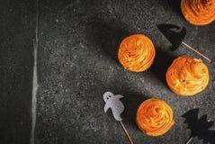 Bigné divertenti per Halloween fotografia stock libera da diritti