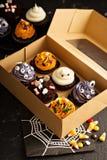 Bigné ed ossequi festivi di Halloween fotografie stock libere da diritti