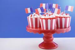 Bigné felici di giorno di Bastille Immagine Stock