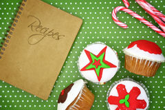 Bigné festivi di Natale Immagine Stock