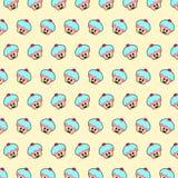 Bigné - modello 01 di emoji royalty illustrazione gratis