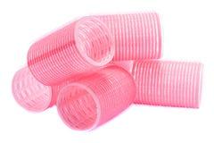 Bigodini dei rulli dei capelli del Velcro Fotografia Stock