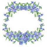 bigorneau Guirlande décorative de fleurs de ressort de vintage Photo stock