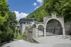 Bigorski Macedônia - St John Monastery imagem de stock royalty free
