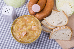Bigos, plat polonais traditionnel Image stock