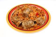 Bigos polonais traditionnels de plat image libre de droits