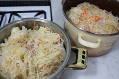 Bigos traditional Polish dish. Stock Photography