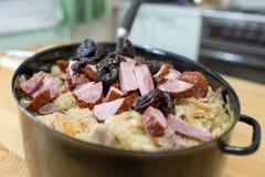 Bigos traditional Polish dish. Royalty Free Stock Image