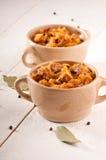 Bigos. The traditional Polish dish. Royalty Free Stock Photo