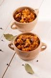 Bigos. The traditional Polish dish. Royalty Free Stock Photography