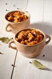 Bigos. The traditional Polish dish. Stock Photos