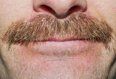 Bigote de Movember Imagen de archivo libre de regalías