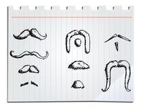 Bigotes dibujados mano libre illustration
