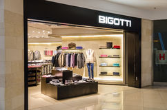 Bigotti Store royalty free stock images