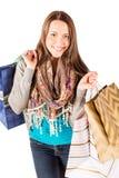 bigtime детеныши покупкы девушки Стоковое Фото