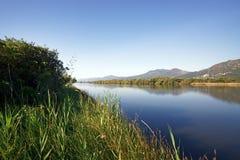 Biguglia laguna zdjęcie stock