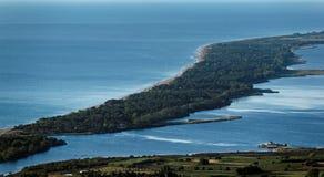 Biguglia laguna w Corsica obrazy royalty free