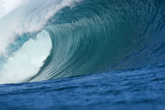 Bigwavebarrel Photo libre de droits