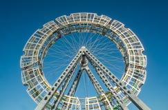 Bigwheel公众艺术 免版税库存照片