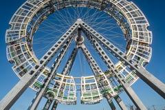 Bigwheel-Öffentlichkeitskunst Lizenzfreies Stockfoto