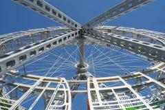 Bigwheel openbare kunst (details) Stock Foto