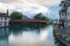 Bigwheel, Stadt von Thun Lizenzfreies Stockfoto