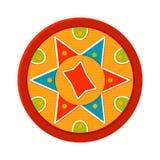 Bihu, διανυσματική απεικόνιση Ινδικό φεστιβάλ επιτιθεμένων διανυσματική απεικόνιση