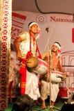 Bihu, cría del Assamese Imagen de archivo libre de regalías